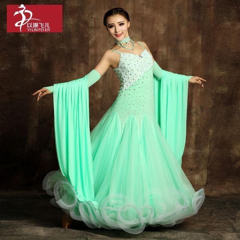 Details about JL Ladies Modern Waltz Tango Latin Ballroom ...