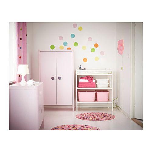 149 00 Busunge Wardrobe Ikea Deep Enough To Hold Standard Sized Adult Hangers Doors With Ikea Nurserynursery Artnursery Furniturenursery