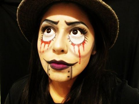 Halloween makeup easy tutorial for beginners | Hobbies | Pinterest ...
