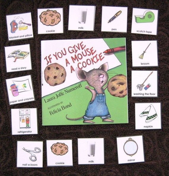 If You Give a Mouse a Cookie Literacy Unit by ...