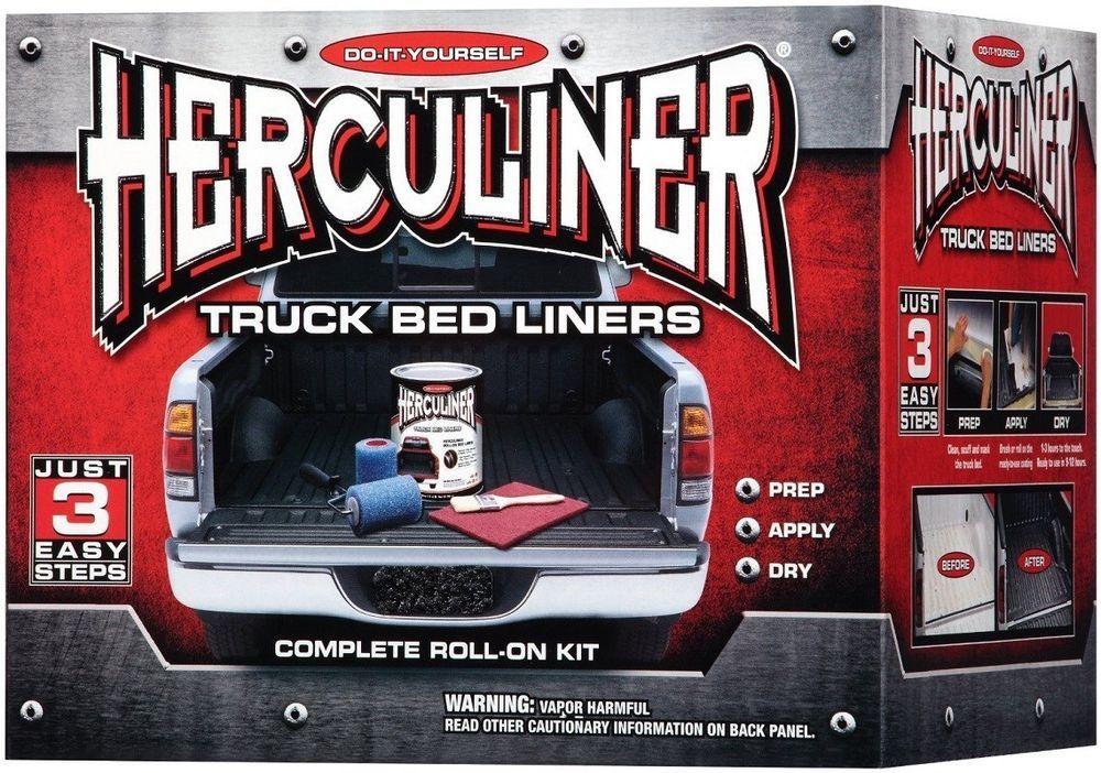 Roll On Bed Liner Kit Coating Sealer Protector Truck Oil