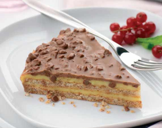 Almondy almond cake with DAIM | Love at first bite (or sip ... Almondy Daim Taart Recept