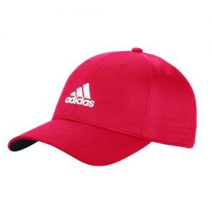 d19615b3 Adidas Performance Max Side Hit Relaxed Cap 2014 Unisex Red Unisex Red