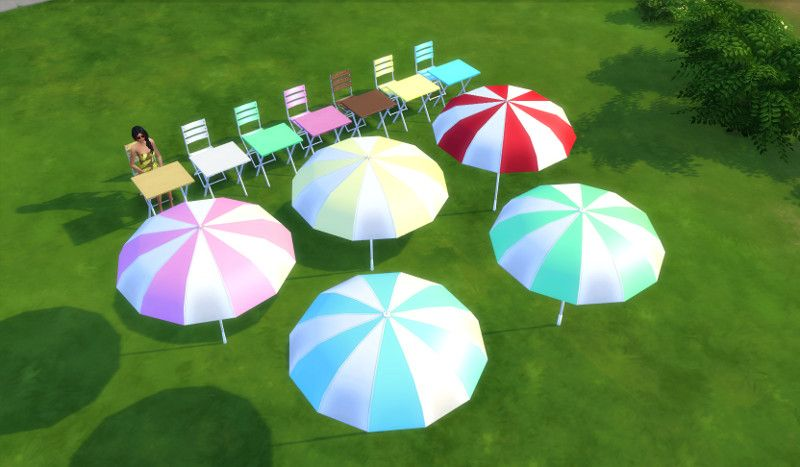 Leander Belgraves - Outdoor Set a Sims 3 to Sims 4 Conversion with...