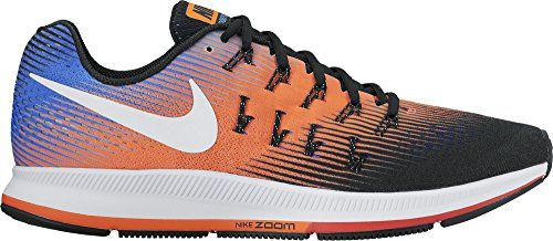Nike Hombres 33 Air Zoom Pegasus 33 Hombres Negro  Blanco  Hyper Orange Https 2777f1