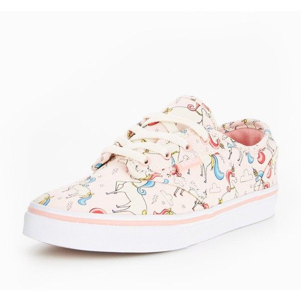 4fbdf57fea Vans Vans Atwood Low Unicorn Print ( 42) ❤ liked on Polyvore featuring shoes