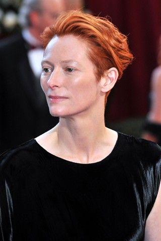 Australian Anglo Scottish Red Headed Actress Tilda Swinton She