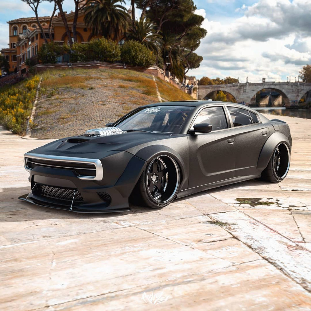 Modern Dodge Charger Gets 1970 Face Swap Looks Spot On Autoevolution Dodge Charger Dodge Charger Hellcat Dodge Muscle Cars