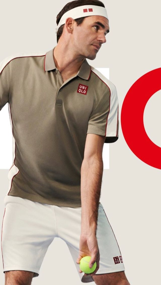 Roger Federer S New Outfit For Roland Garros 2019 Uniqlo Equipment Manufacturer Roger Federer Tennis Stars Tennis Clothes