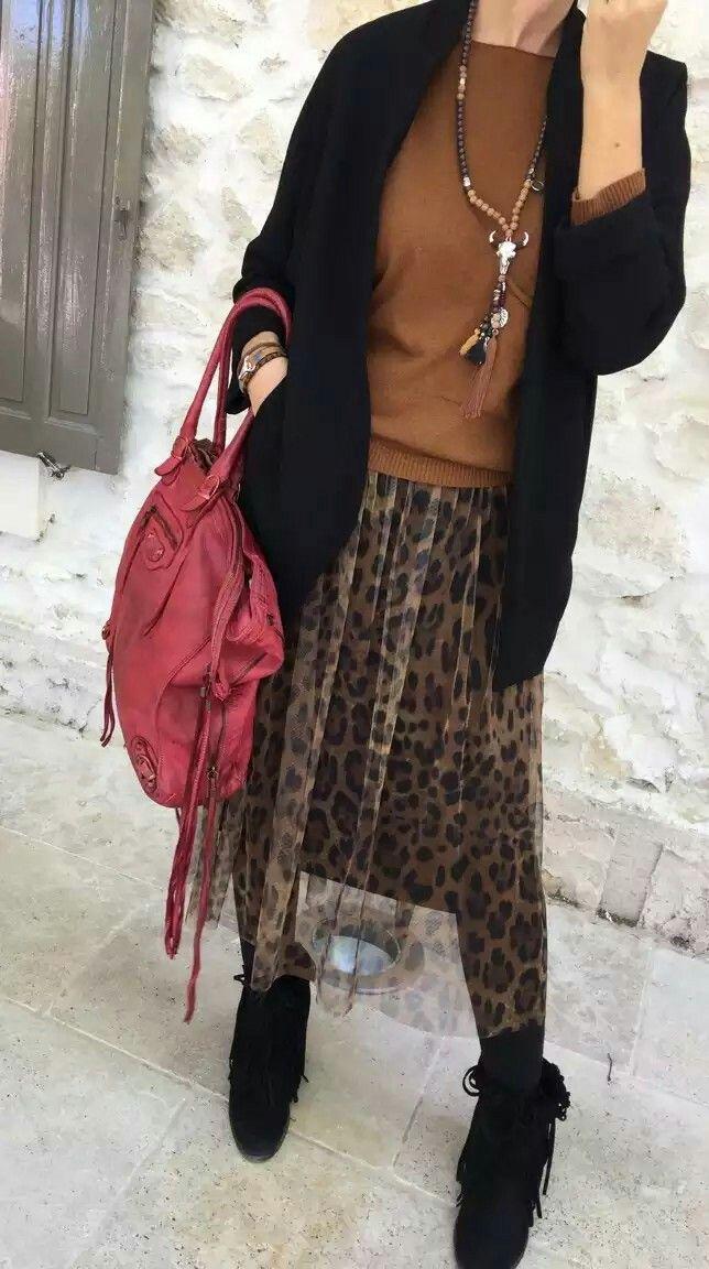 Jupon léopard tenue bohème, Aix en Provence, hippie chic, Coachella. Le Dressing d'Aurélie et ledressingdaurelie.com