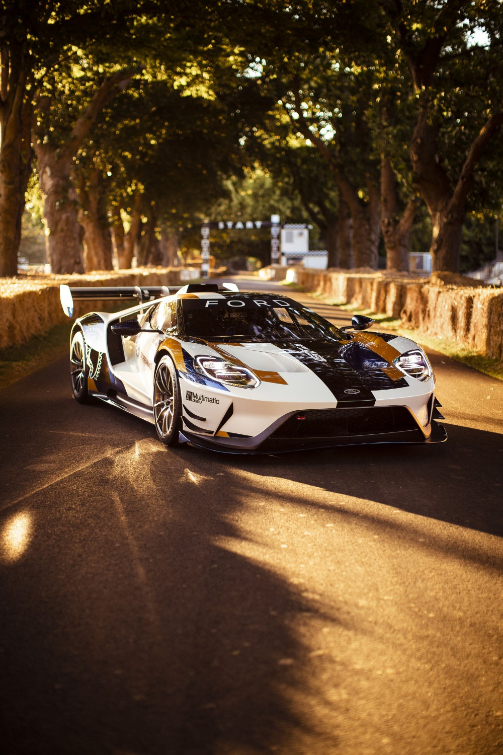 Ford S Goodwood Surprise Is The Mk Ii Gt Track Monster Ford Gt Sports Cars Luxury Super Cars