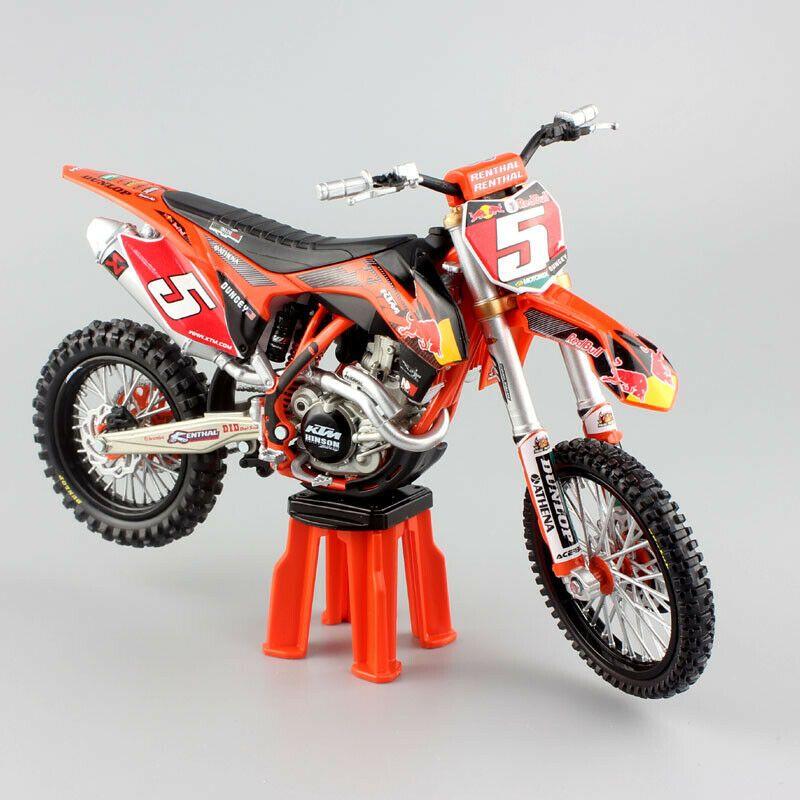 Details About 1 12 Scale Ktm Sx F 450 Sxf No 5 Ryan Dungey