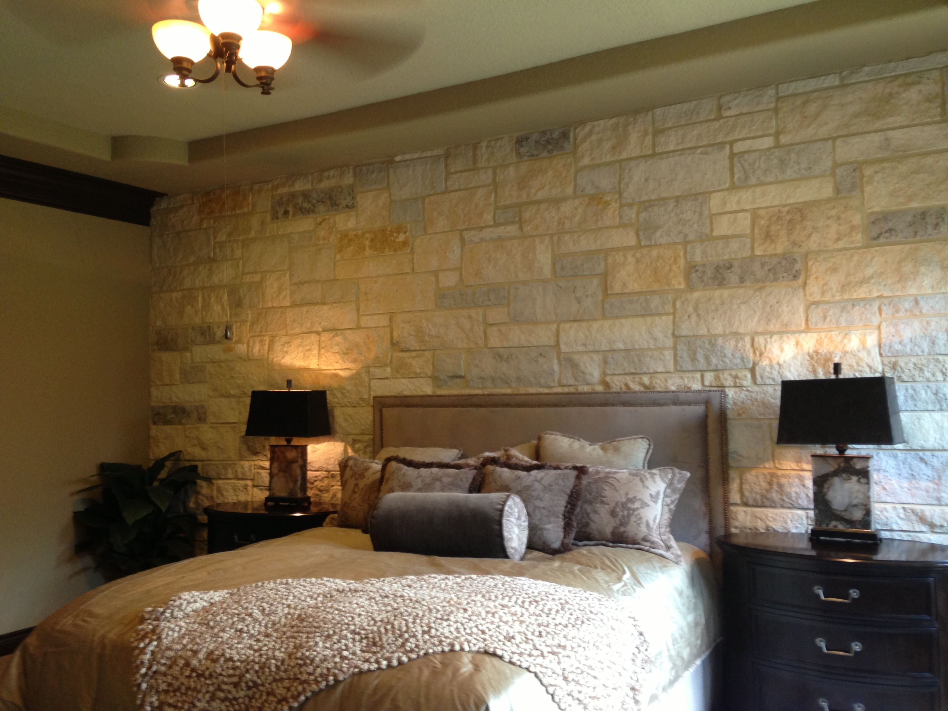 love the limestone accent wall | dream home! | pinterest | walls