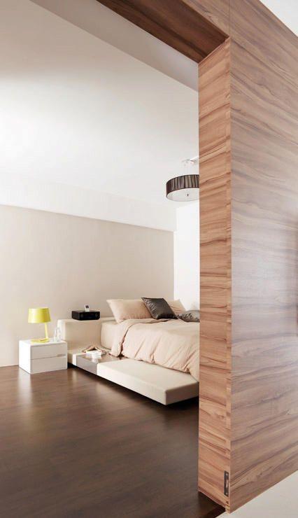 Bedroom Hdb Furniture: House Tour: Open-concept 3-room HDB Flat
