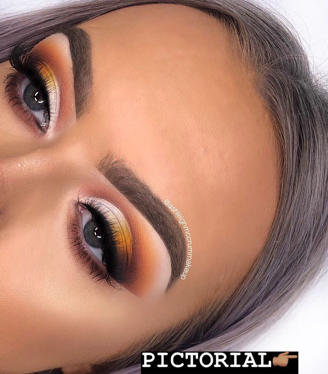 "� ASHLEIGH MCCRUM on Instagram: ""Hey babies � DOUBLE Tap if you love this OMBRÉ lid colour �� ��Swipe for the step by step PICTORIAL � �� ————— Inspo: @lo_lavxo lav…"""