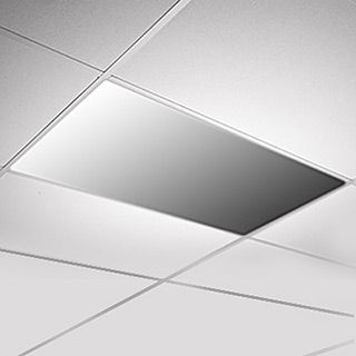 Glless Mirror Ceiling Panel Lighter And Brighter Than Plate Gl Mirrors Are Made From A Highly Reflective Metalized Polyester Film