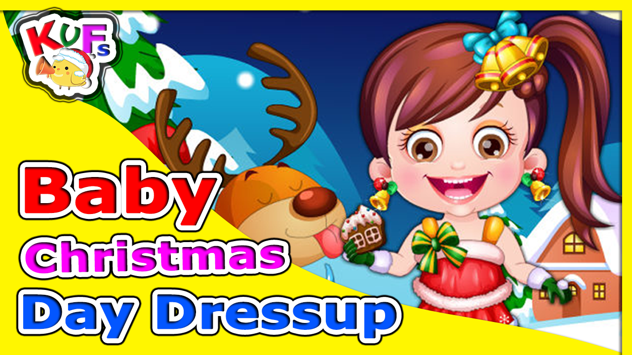 Baby Christmas Day DressUp - Christmas Songs For Kids - Christmas ...