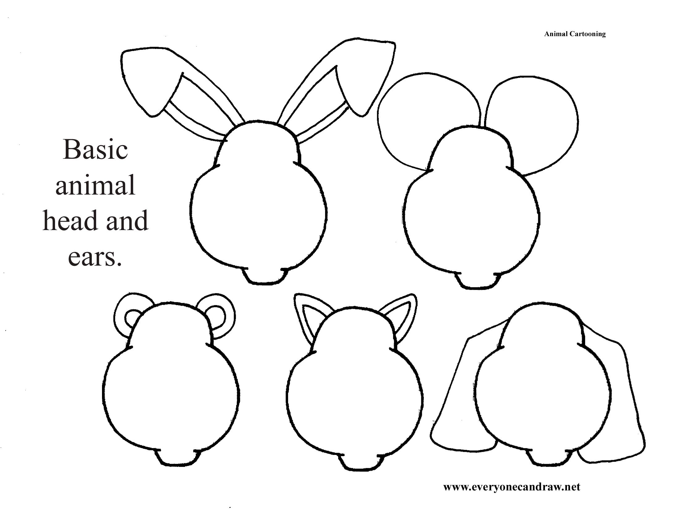 Easy Animal Heads