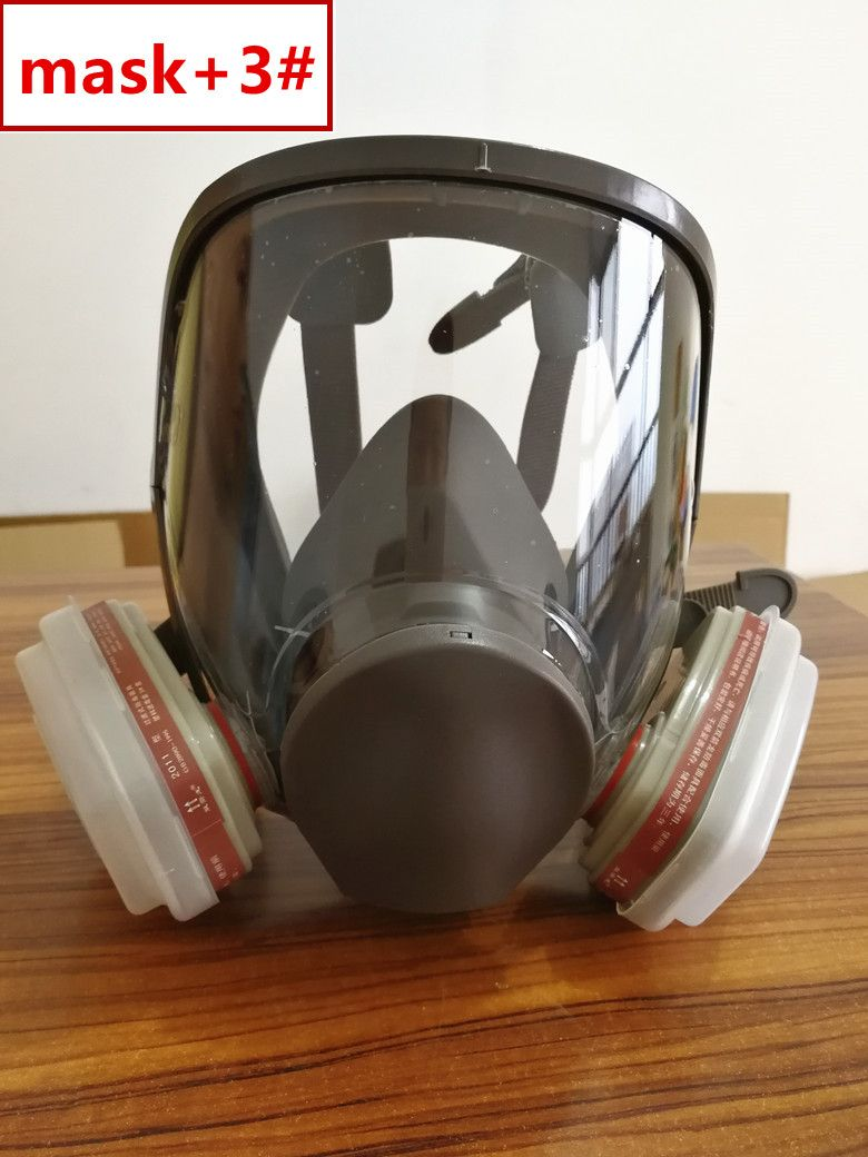 Back To Search Resultshome & Garden Sjl Full Facepiece Respirator Painting Spraying Mask For 6800 Gas Mask