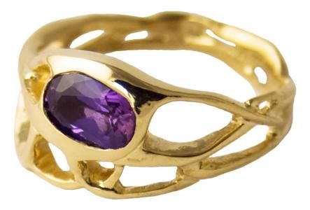 Obsessed with purple sapphire. This boutique makes the most gorgeous, unique jewelry, and love their ethical and sustainable practices.
