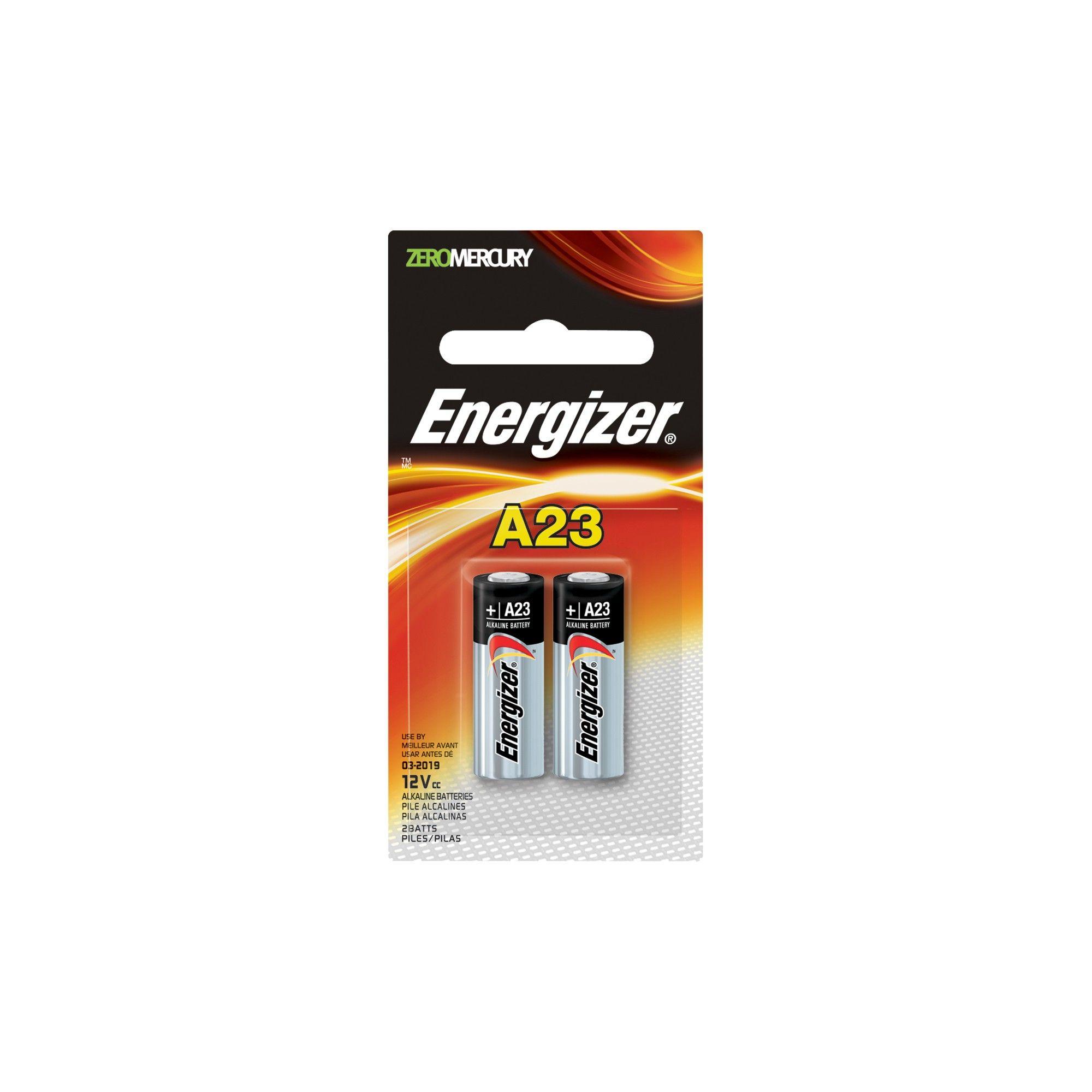 Energizer 2pk A23 Batteries Energizer Battery A23 Battery Energizer