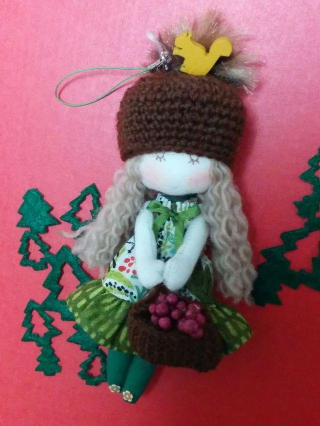 Fashionable mini Doll (autumn forest)