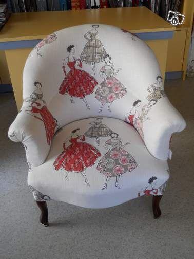Fauteuil Crapaud Ancien Refait à Neuf Ameublement Vienne Leboncoin - Ancien fauteuil crapaud