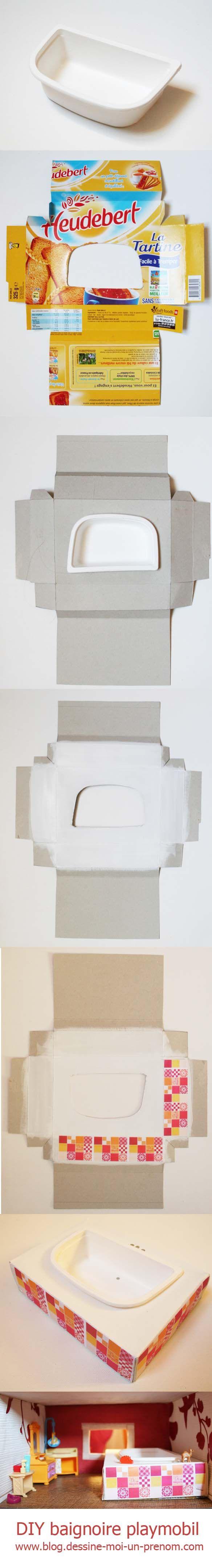 Salle De Bain Playmobil ~ tutoriel diy fabriquer salle de bains playmobil maisons de poup es