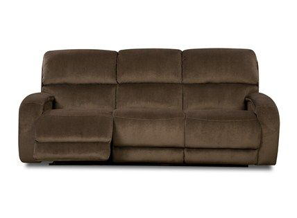 Fandango Double Reclining Sofa With Power Headrest At Furniture Mall Of Kansas With Images