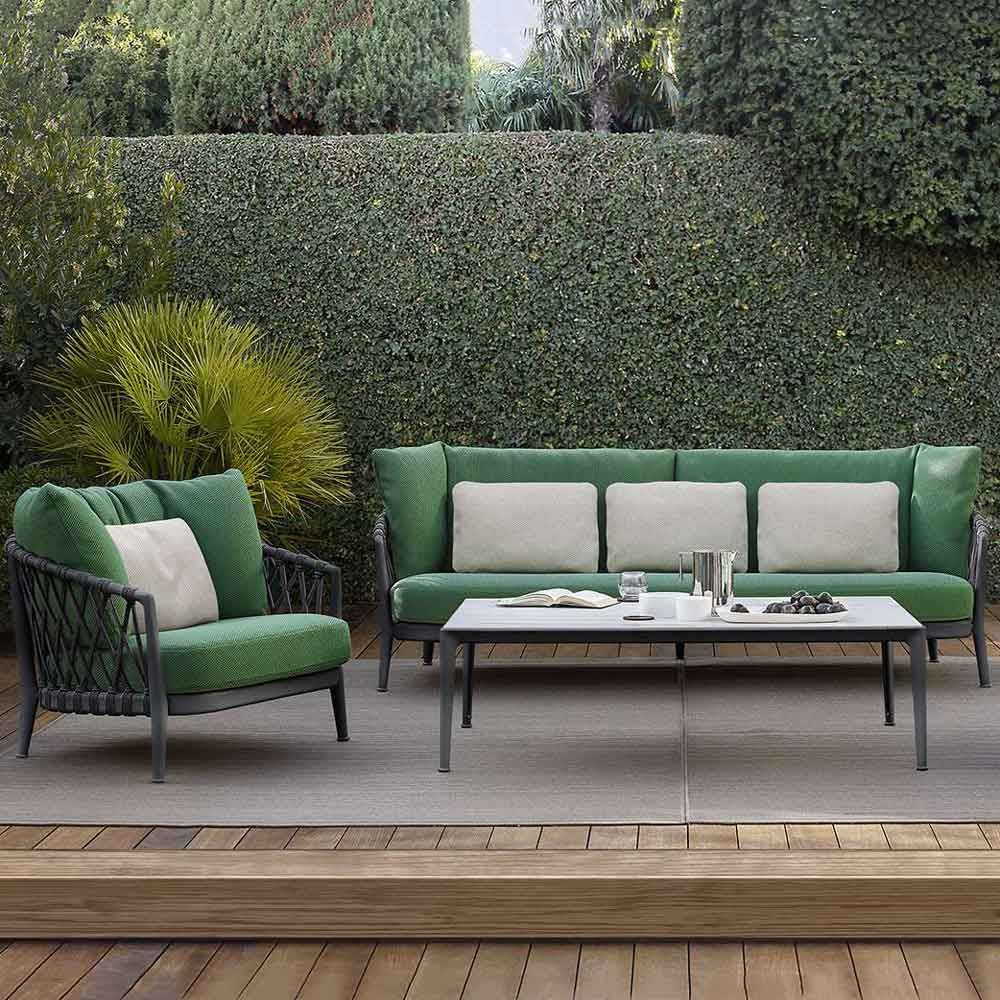H&H Studio Dubai - Erica by B&B Italia  Lounge chair outdoor