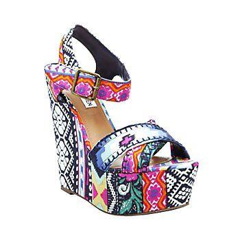 2c073e7dba Aztec Print Women Wedge Shoes - Bohemian Aztec Print Women Wedge Shoes # aztec #wedges www.loveitsomuch.com