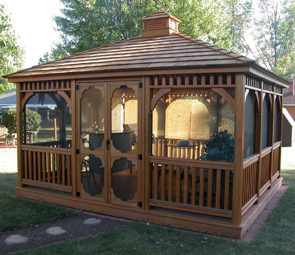 70 DIY Backyard Gazebo Design and Decorating Ideas ...
