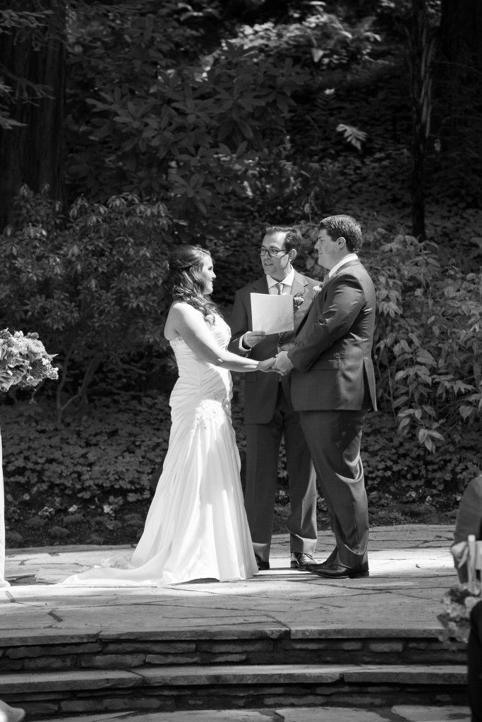 Katie and Adam's Nestldown Wedding // Caitlin Arnold Weddings and Events // ...   - The Ceremony -