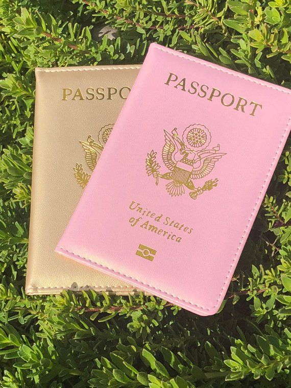 Love to travel in style? Why do it with a boring passport?! Let us help you! Pretty Little Passports is home for cute and affordable passport covers for every traveler.  Follow and tag our Instagram @prettylittlepassports ***BRUSHED ROSE GOLD 1-2 WEEKS*** ***CUSTOMIZATION MUST BE ADDED TO CART*** ***DOCUMENT HOLDER & CHROME COVERS 10 BUSINESS DAYS. NO CUSTOM !!!!PLEASE BE ADVISED PROCESSING TIME HAS DOUBLED DUE TO MATERIAL DELAYS DUE TO COVID!!!*** Please add customization to notes in checkout ***NO CANCELLATIONS ONCE YOUR ORDER IS PLACED. EXCHANGE ONLY WITHIN 30 DAYS. ITEM(S) MUST BE UNUSED AND UNDAMAGED. CUSTOMIZED ITEMS CAN NOT BE EXCHANGED***