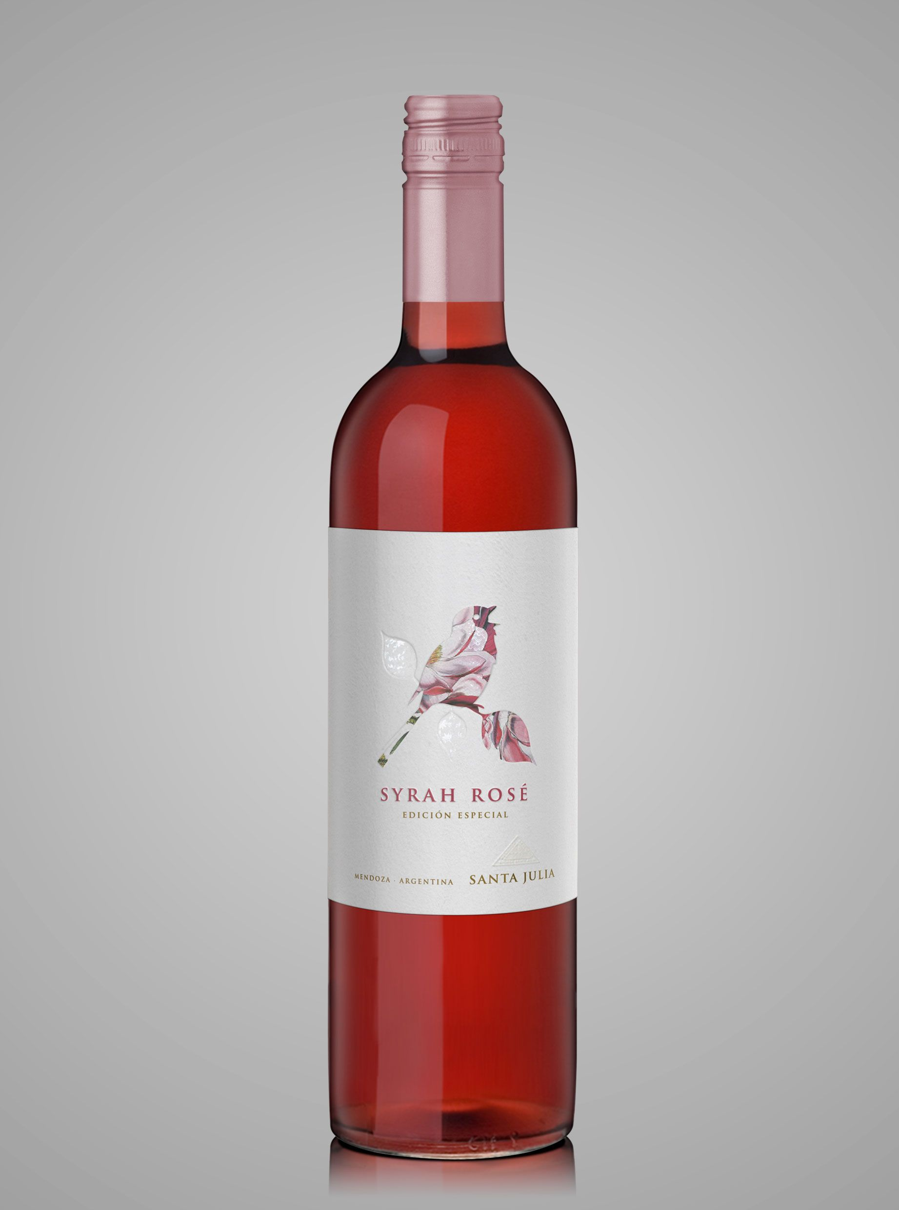 Syrah Rose Santa Julia Wine Bottle Design Wine Packaging Wine Design