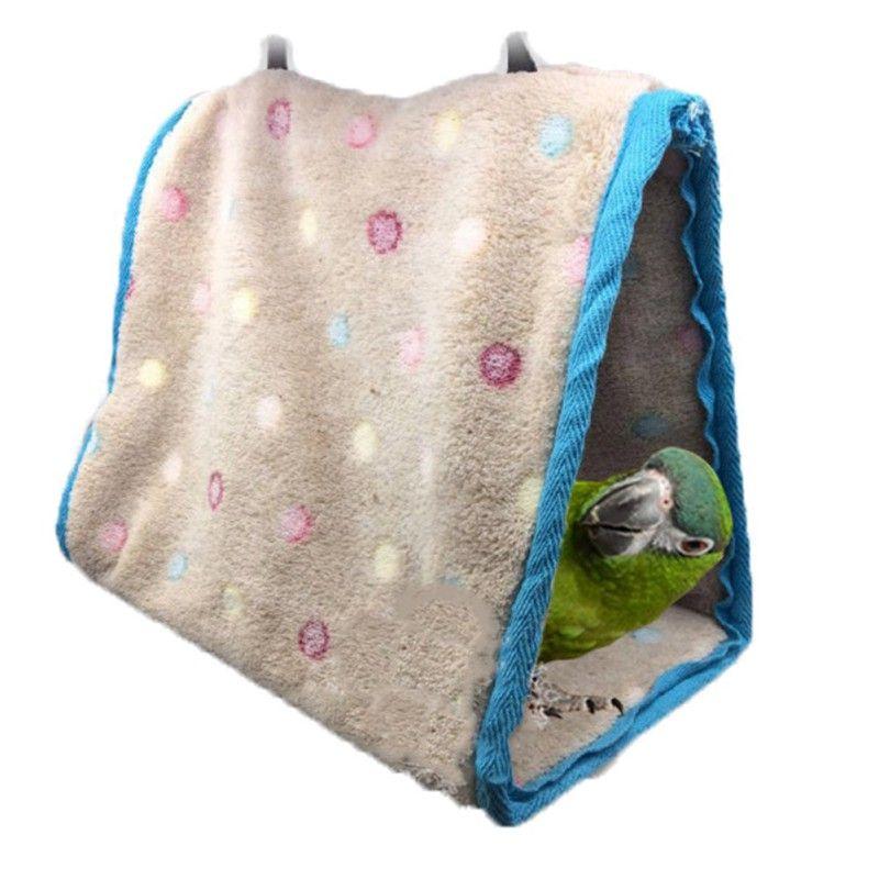 Nette Vogelkafige Papagei Hammock Winter Warme Vogel Lieferungen