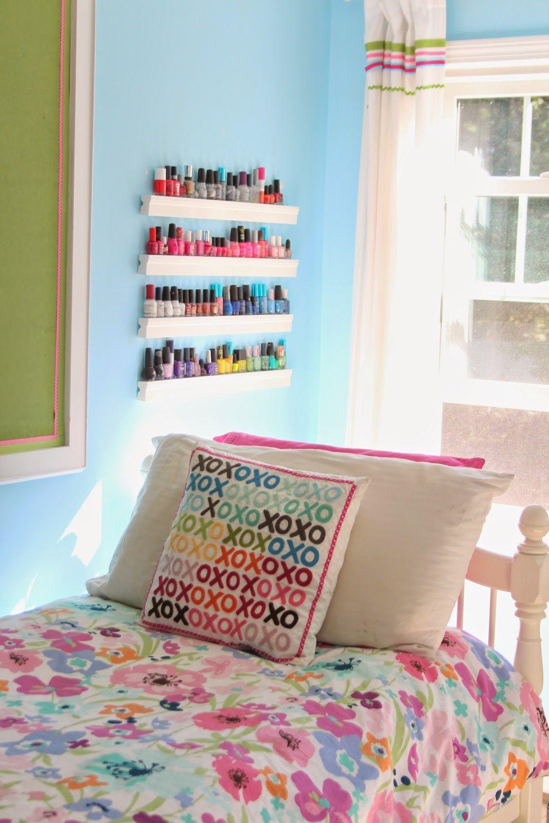 Diy Nail Polish Ledges Diy Projects For Bedroom Diy Room Decor
