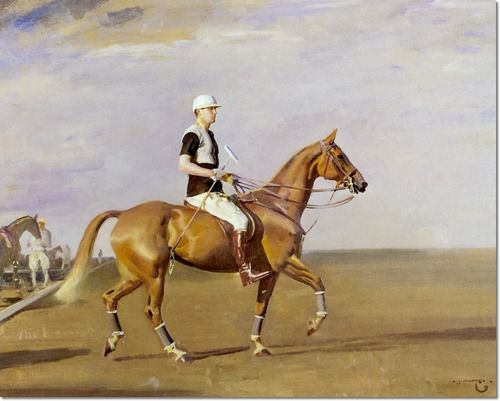 Alfred J Munnings - Alfred Munnings - The Polo Player 1929 Painting