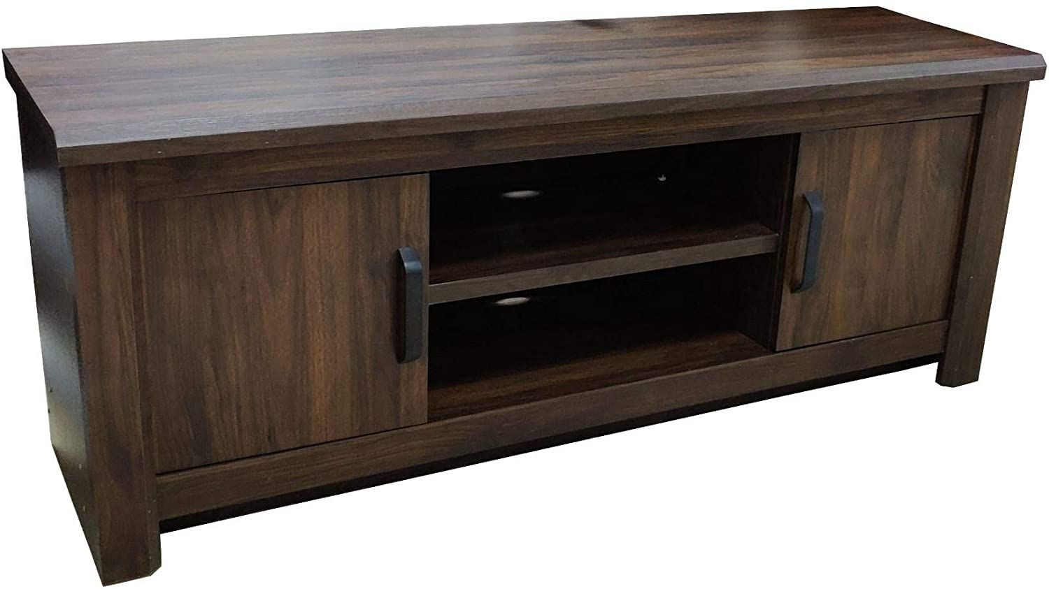 Tv Cabinet Lcd Rack 65 Inch Tv Table 160 Cm Walnut Color Sbf 1814 Sbf Furniture Malaysia Tv Cabinets Cabinet Furniture