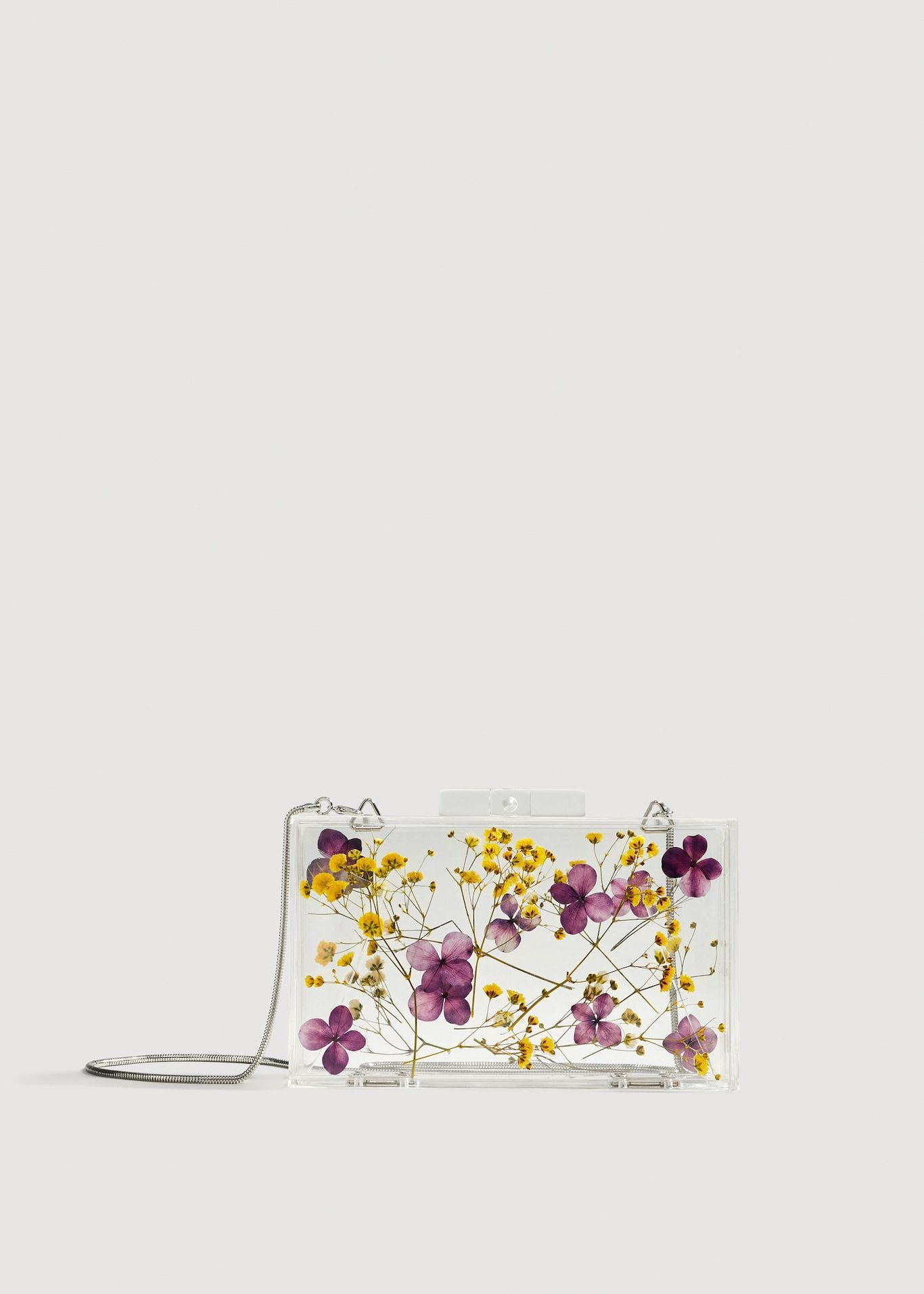 d6d76e46cd7 Clutch transparente flores - Mujer | Fashion babes ⭐ | Bodas de ...