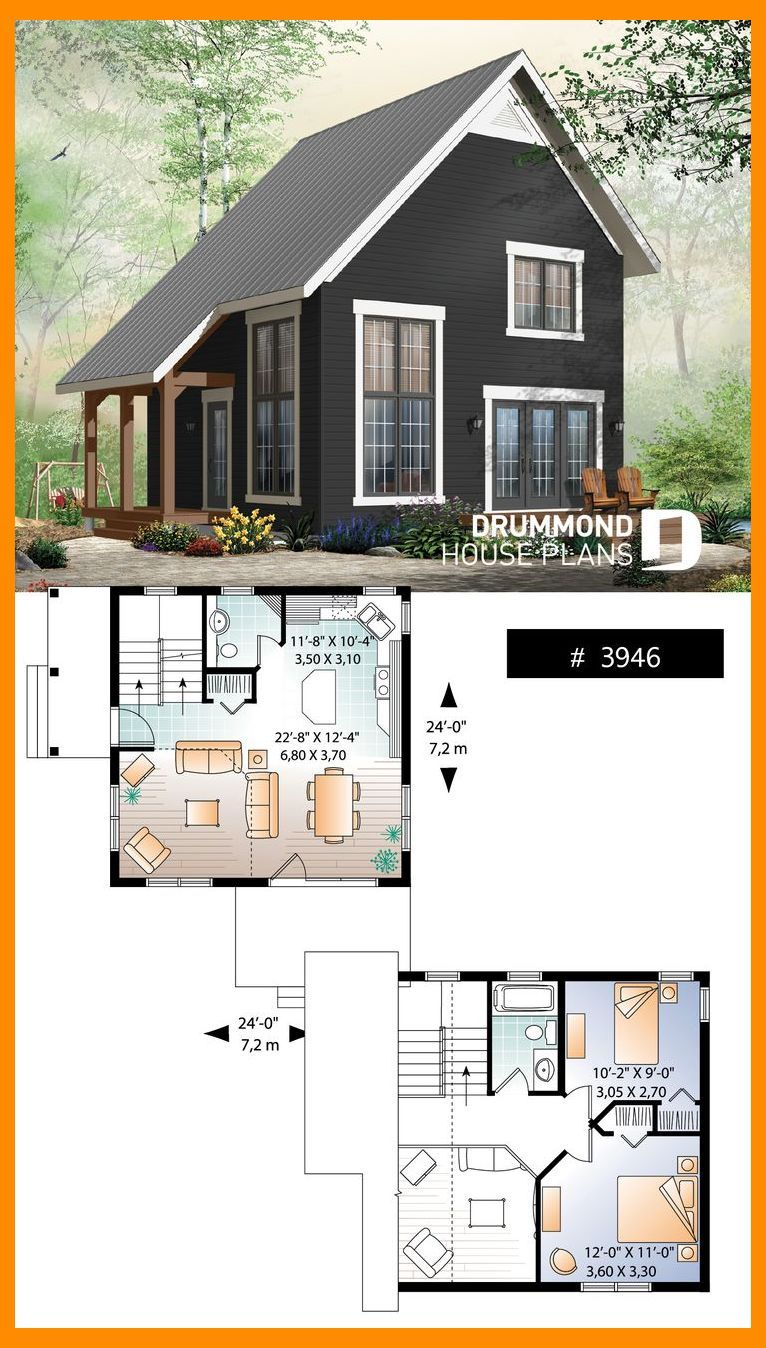 Tiny Cabin Design Plan Tiny House Plans Small House Interior Design Small Apartment Int Tiny Cabin Design Tiny Cabin Plans Cottage House Plans