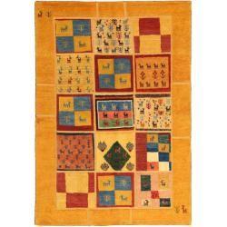 Gabbeh Persisch Teppich 136x200 Orientalischer Teppich