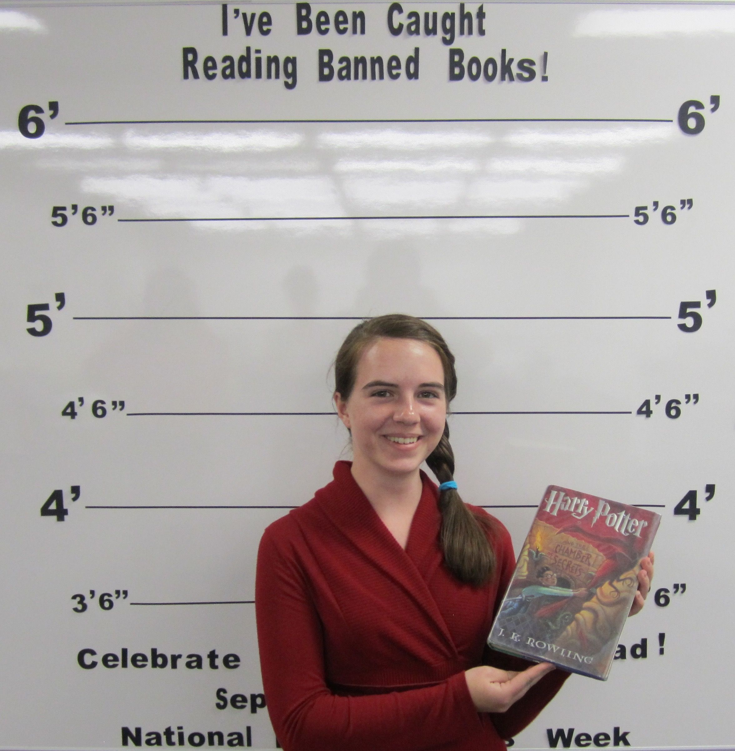 "September 2015 - Banned Books Week - ""I've Been Caught Reading Banned Books!"" - September 27th thru October 3rd - USU Eastern/Price Student"
