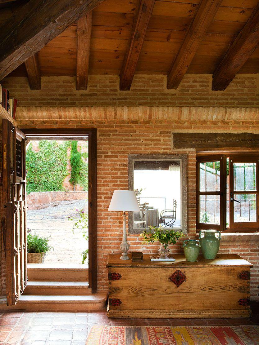 El abc de la casa ecol gica casas casas de ladrillo for Casas rusticas de ladrillo