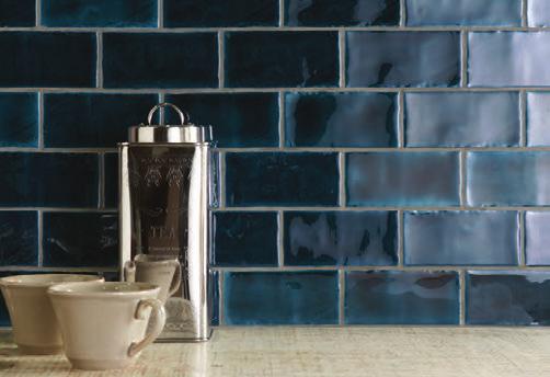 Winchester Tile Company Residence Range - Cosmopolitan : Bastille Half Tile 130x63 Display