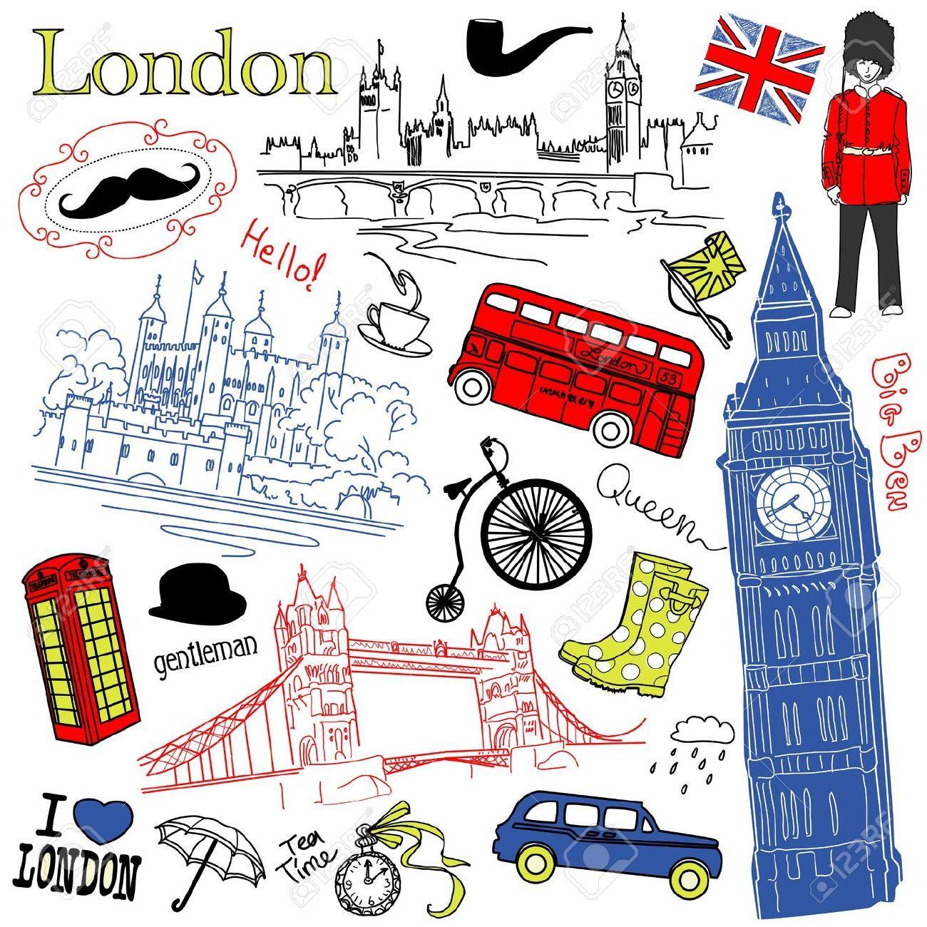London Inspired Fashion Illustrations Google Search Doodles De Cahier Couvertures De Cahier Coloriage Londres