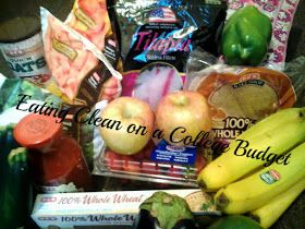 Eating Clean on a College Budget: 09/18 Shopping Trip