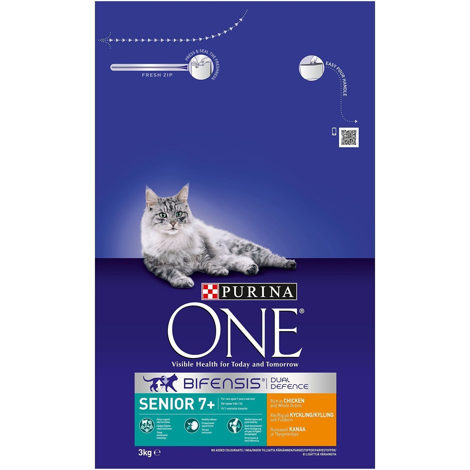 Purina One Senior 7 Rich In Chicken and Whole Grains 3kg
