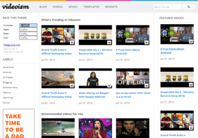 free videoism premium blogger templates for creating free