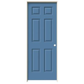 Jeld Wen Blue Heron Prehung Solid Core 6 Panel Interior Door (Common: